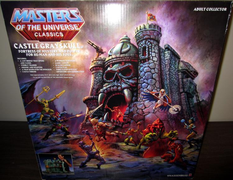 Castle Grayskull Playset Classics Masters Universe