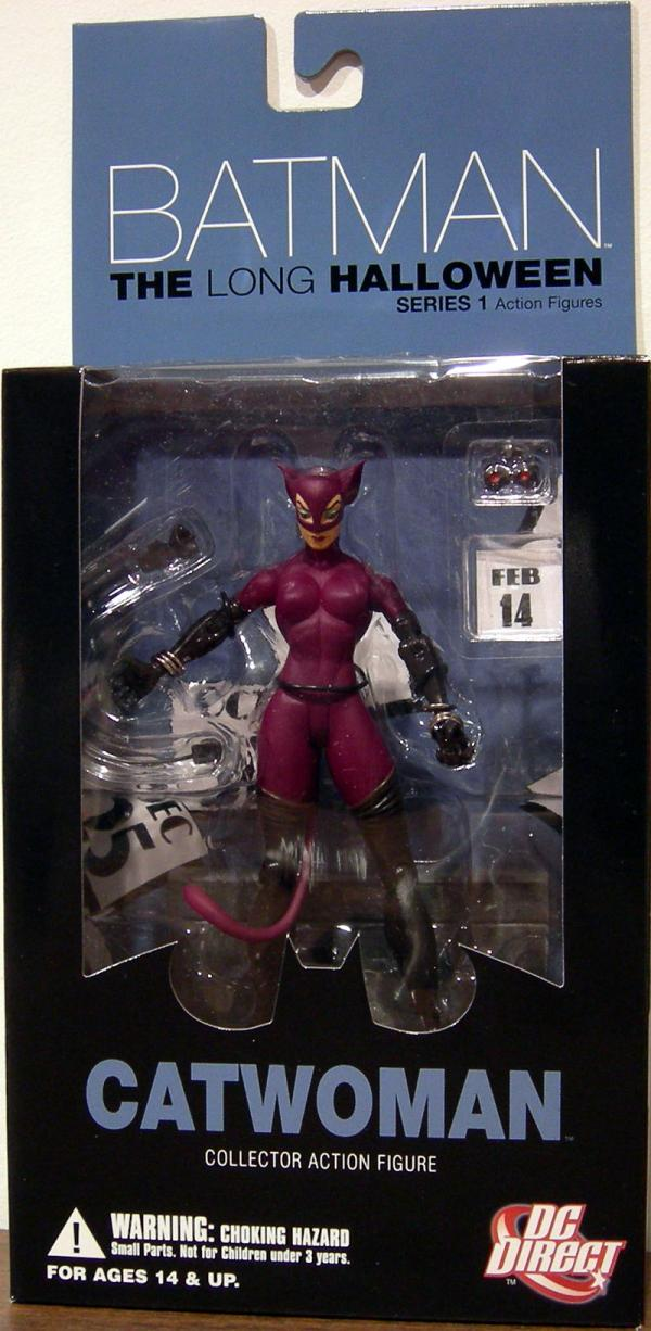 Catwoman Long Halloween action figure