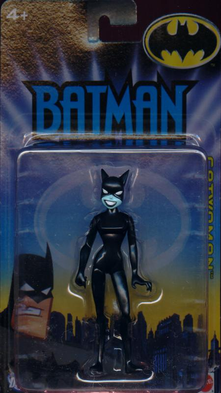 Catwoman 2005 Black Outfit Costume Batman Animated Mattel figure
