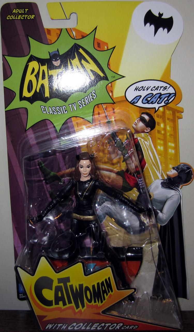 Catwoman Batman Classic TV Series action figure