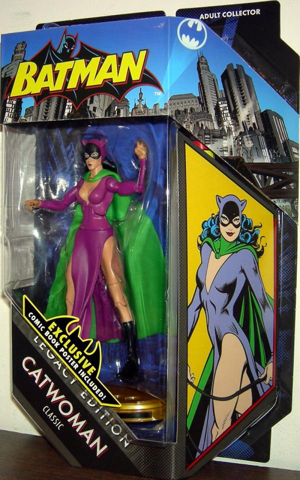 Catwoman Classic DC Universe, Legacy Edition