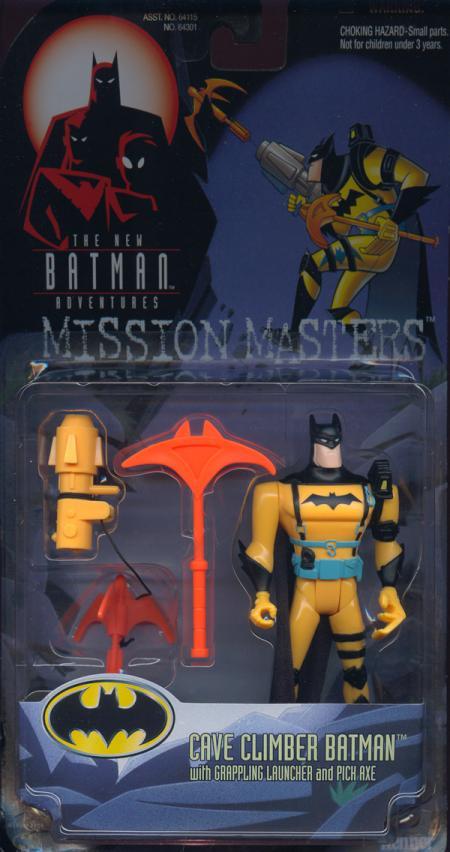 Cave Climber Batman Action Figure New Adventures Mission Masters
