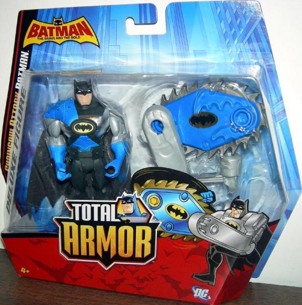 Chainsaw Attack Batman Total Armor