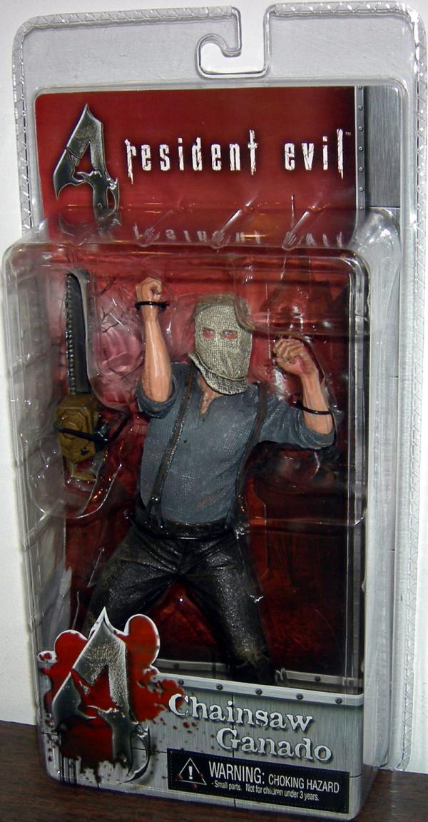 Chainsaw Ganado Figure Resident Evil 4 Series 1