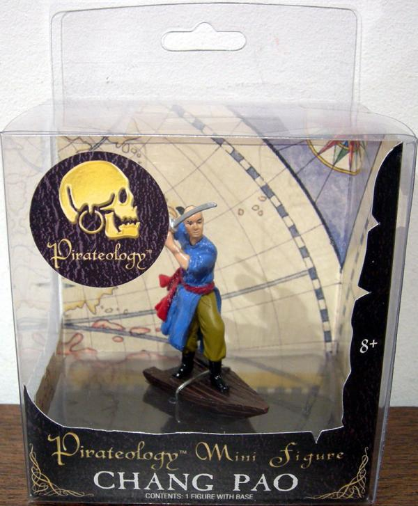 Chang Pao Pirateology Mini action Figure