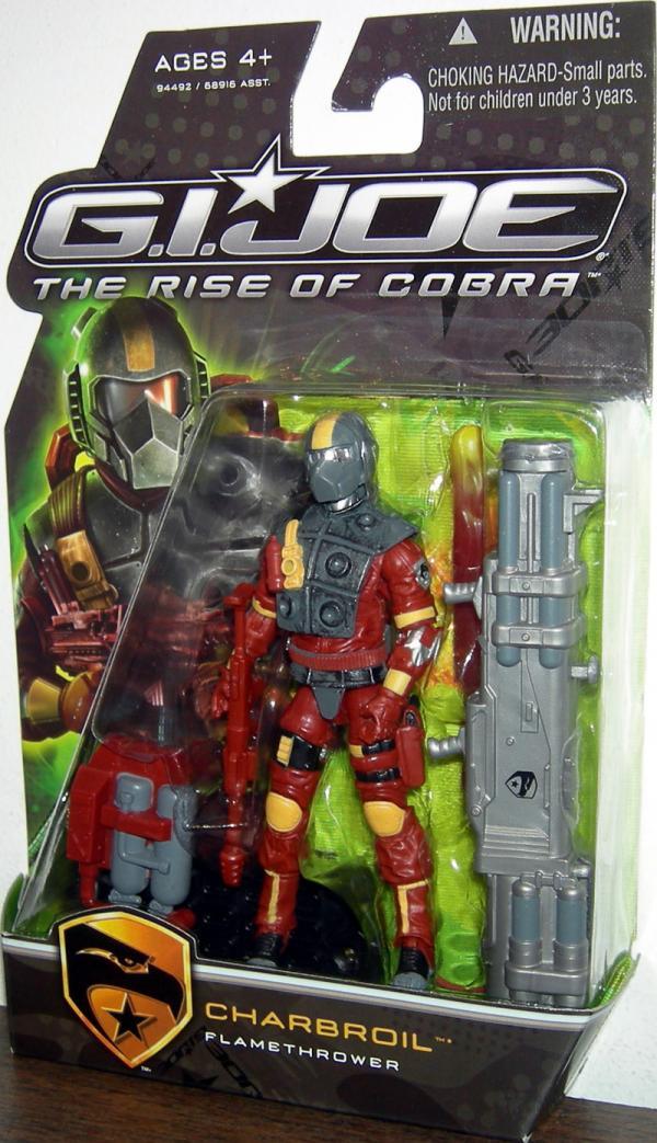Charbroil Rise Cobra action figure