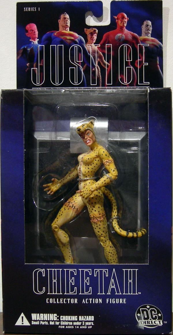 Cheetah Alex Ross action figure