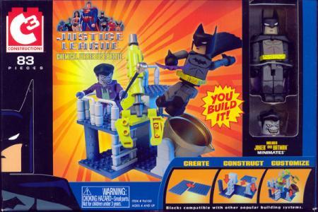 Chemical Warehouse Battle C3 Joker Batman Minimates