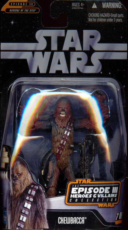 Chewbacca Episode III Heroes Villains Collection, 7 12