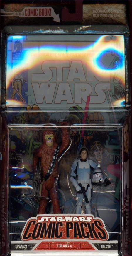 Chewbacca Han Solo Comic Packs