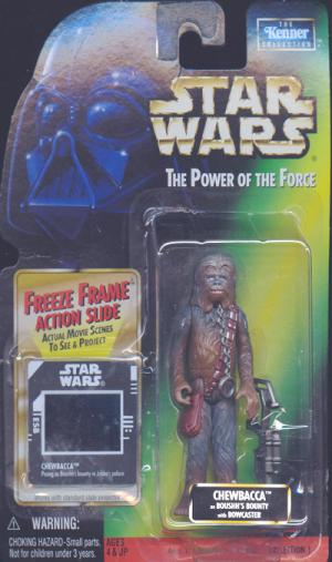 Chewbacca Boushhs Bounty Freeze Frame Star Wars action figure