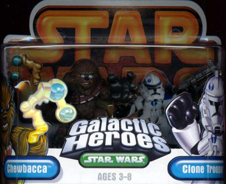 Chewbacca Clone Trooper Galactic Heroes