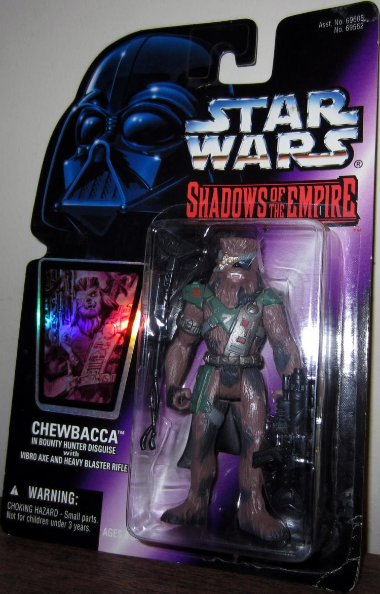 Chewbacca in Bounty Hunter Disguise Action Figure Shadows Empire