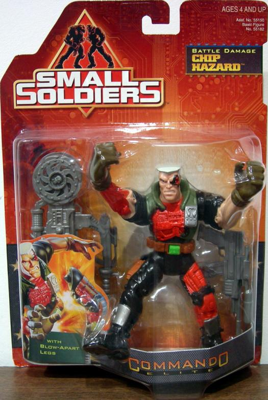 Chip Hazard Battle Damage Small Soldiers action figure