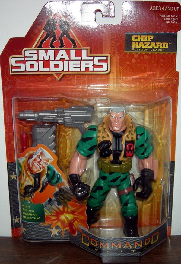 Chip Hazard Platoon Leader Figure Small Soldiers Kenner