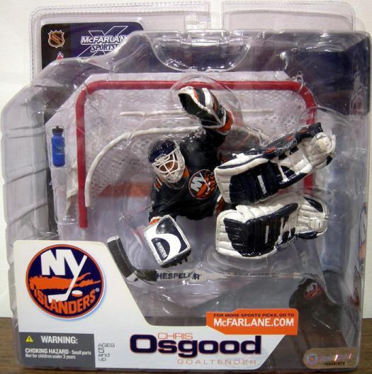 Chris Osgood Blue Jersey SportsPicks New York Islanders action figure