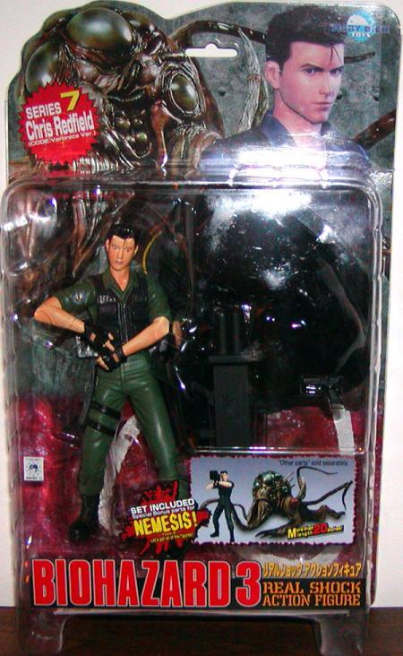 Chris Redfield Biohazard 3 Real Shock Resident Evil action figure