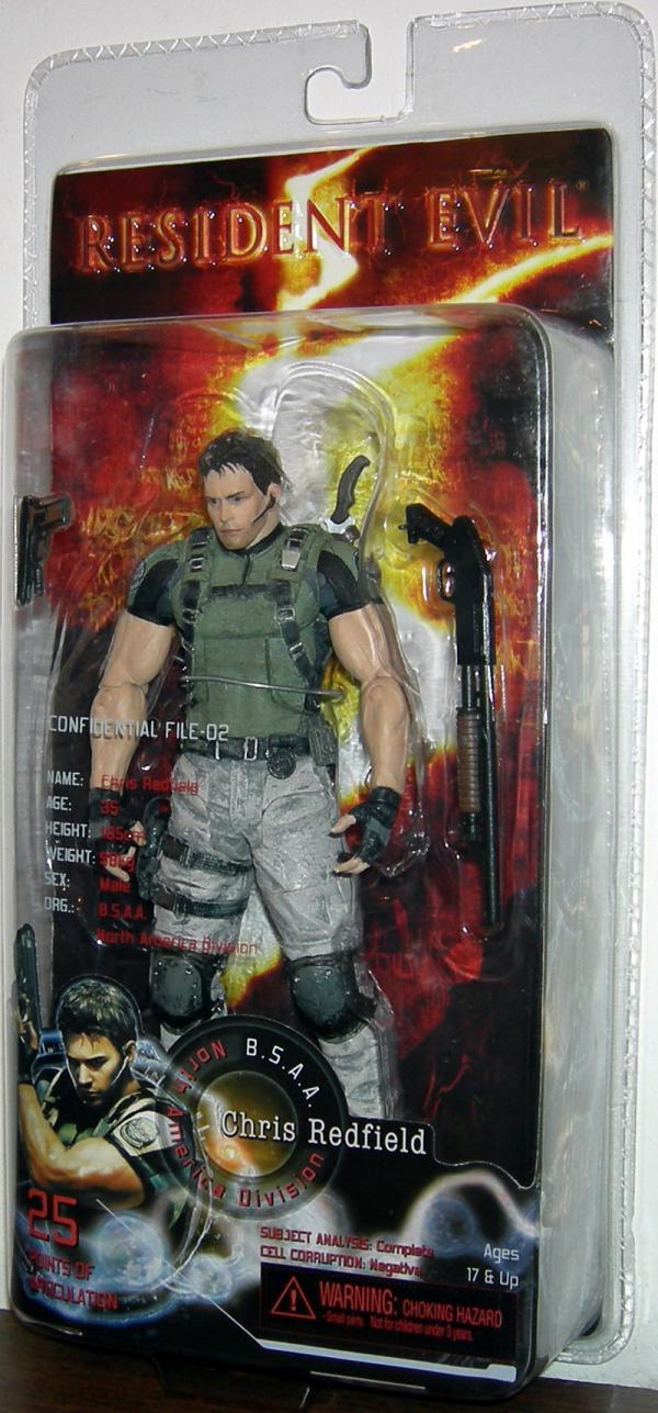 Chris Redfield Resident Evil 5