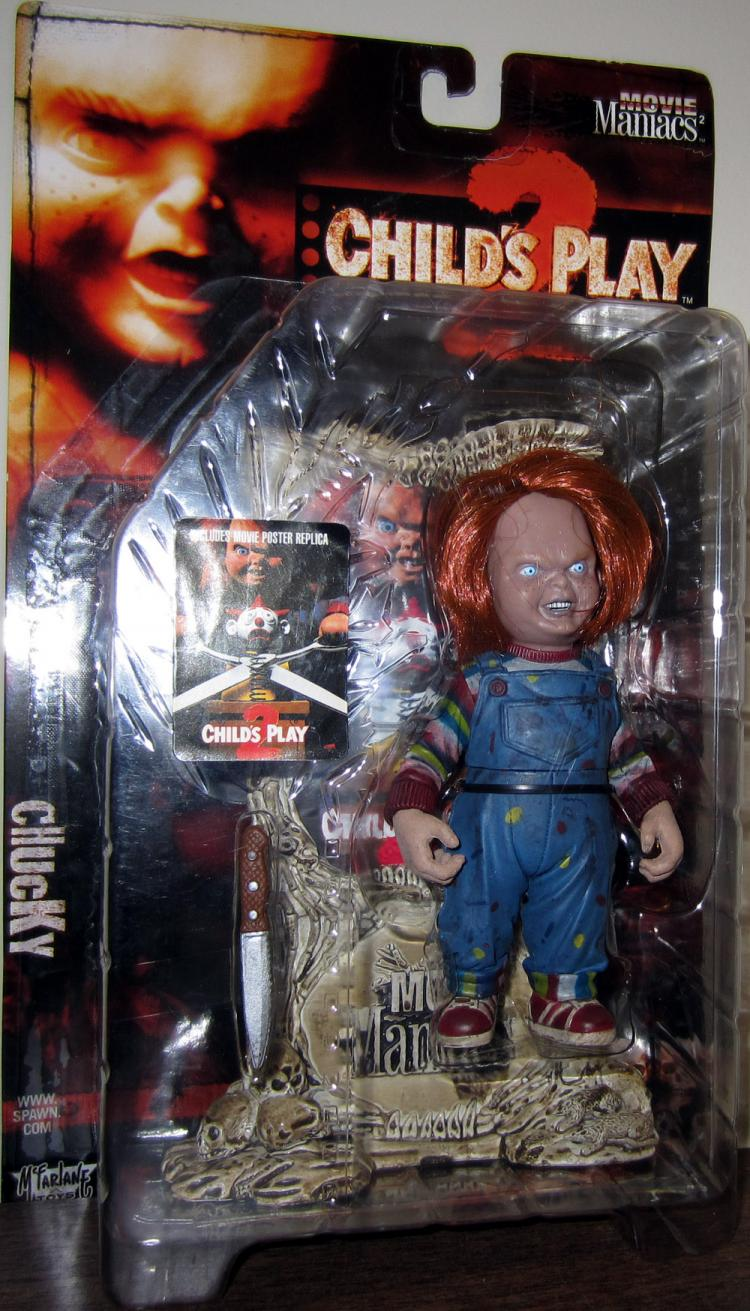 Chucky Figure Childs Play 2 Movie Maniacs 2