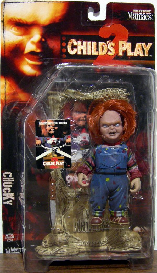 Chucky Figure Childs Play 2 Movie Maniacs 2