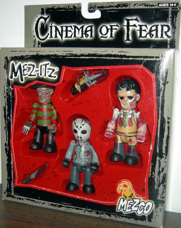 Cinema Fear Figures Mez-Itz Color Mezco