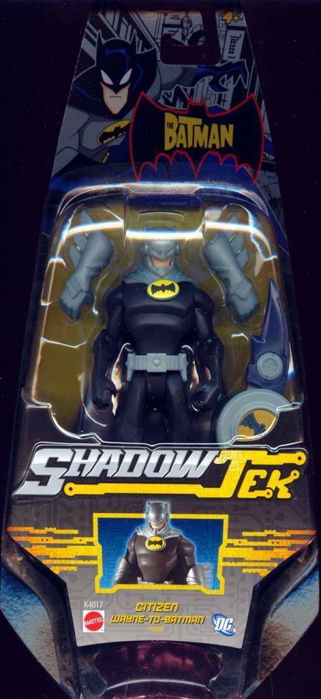 Citizen Wayne-To-Batman ShadowTek action figure