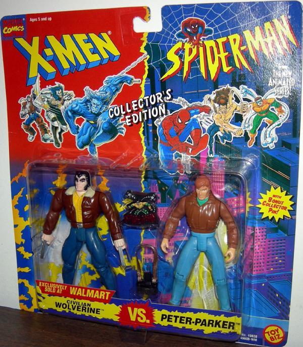 Civilian Wolverine vs Peter Parker