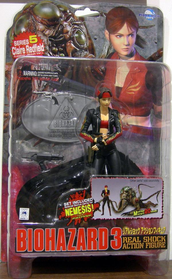Claire Redfield Figure Biohazard 3 Leather Jacket Resident Evil