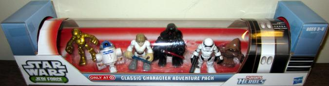 Classic Character Adventure Pack Figures Galactic Heroes