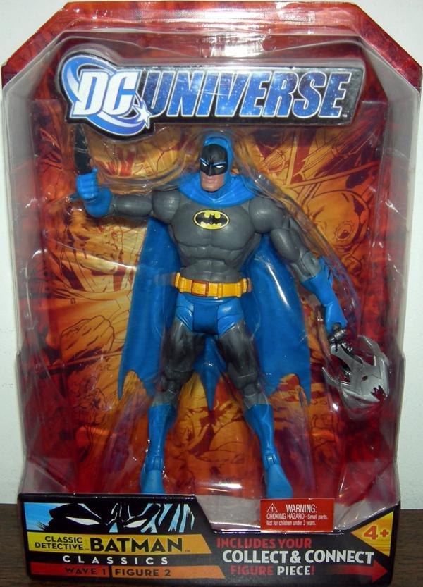 Classic Detective Batman Figure DC Universe Classics