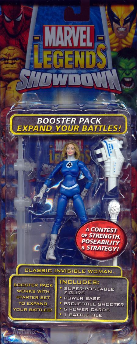 Classic Invisible Woman Marvel Legends Showdown variant