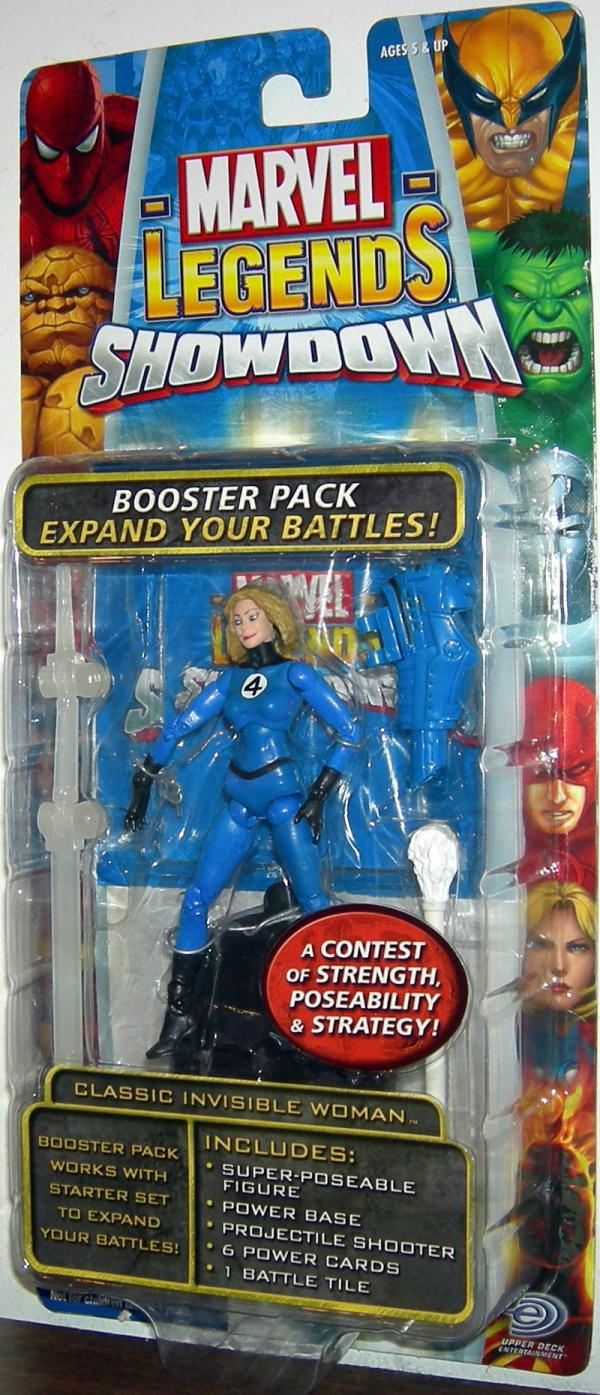Classic Invisible Woman Marvel Legends Showdown action figure