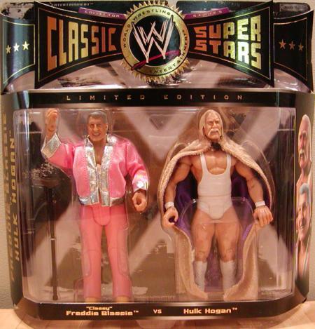 Classy Freddie Blassie vs Hulk Hogan 2-Pack