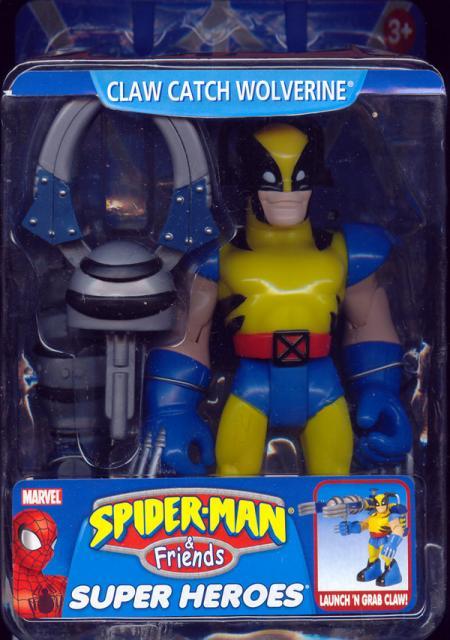 Claw Catch Wolverine Spider-Ma Friends action figure