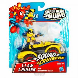 Claw Cruiser Super Hero Squad Wolverine action figure