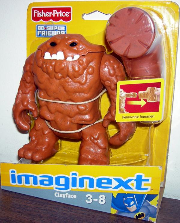 Clayface Imaginext Action Figure Fisher Price