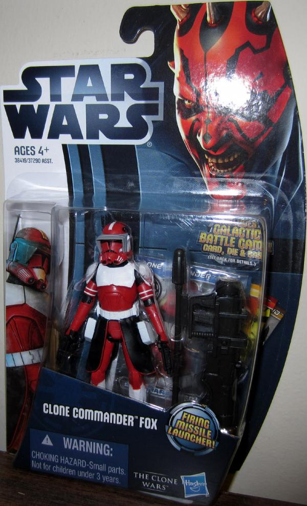 Clone Commander Fox Action Figure CW18 Star Wars