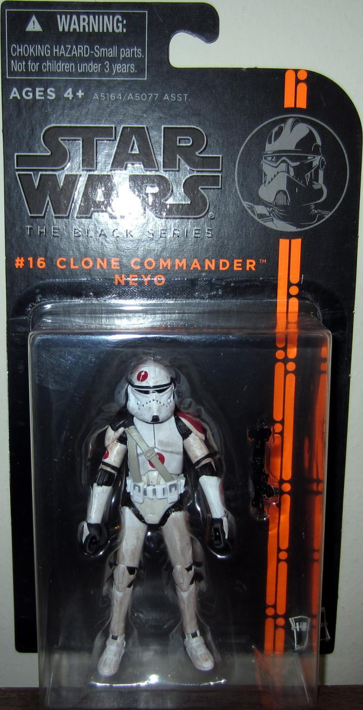 Clone Commander Neyo Figure Black Series 16 Star Wars