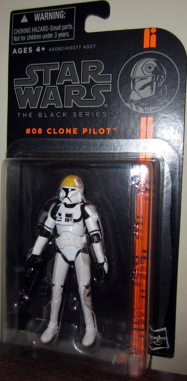 Clone Pilot Black Series 08 Star Wars action figure