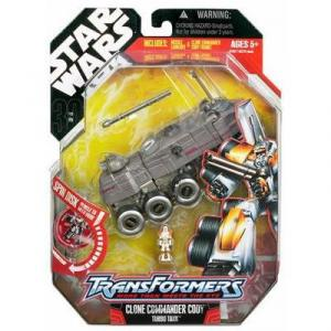 Clone Commander Cody Turbo Tank Transformers