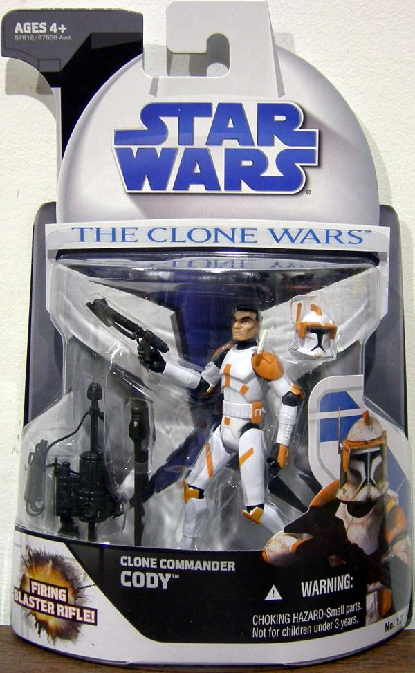 Clone Commander Cody Clone Wars