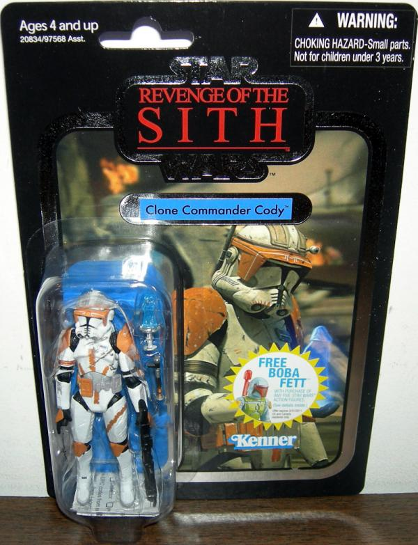 Clone Commander Cody VC19, foil variant