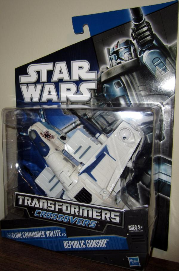Clone Commander Wolffe Republic Gunship Transformers Crossovers