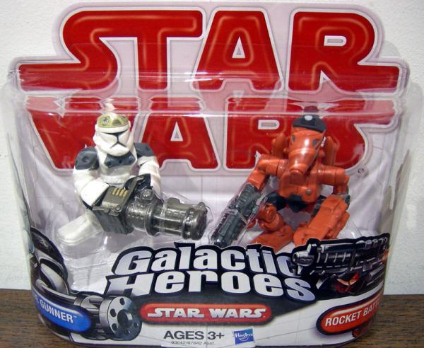Clone Gunner Rocket Battle Droid Galactic Heroes
