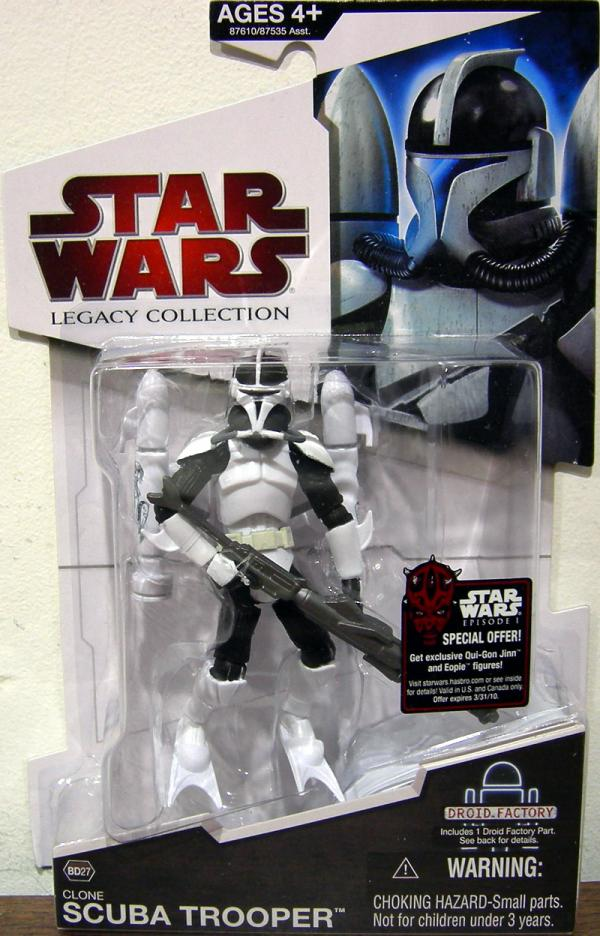 Clone Scuba Trooper BD27 Star Wars action figure