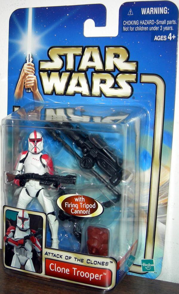 Clone Trooper Figure Attack Clones No Dots Pictured