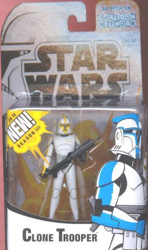 Clone Trooper Commander Cartoon Network III