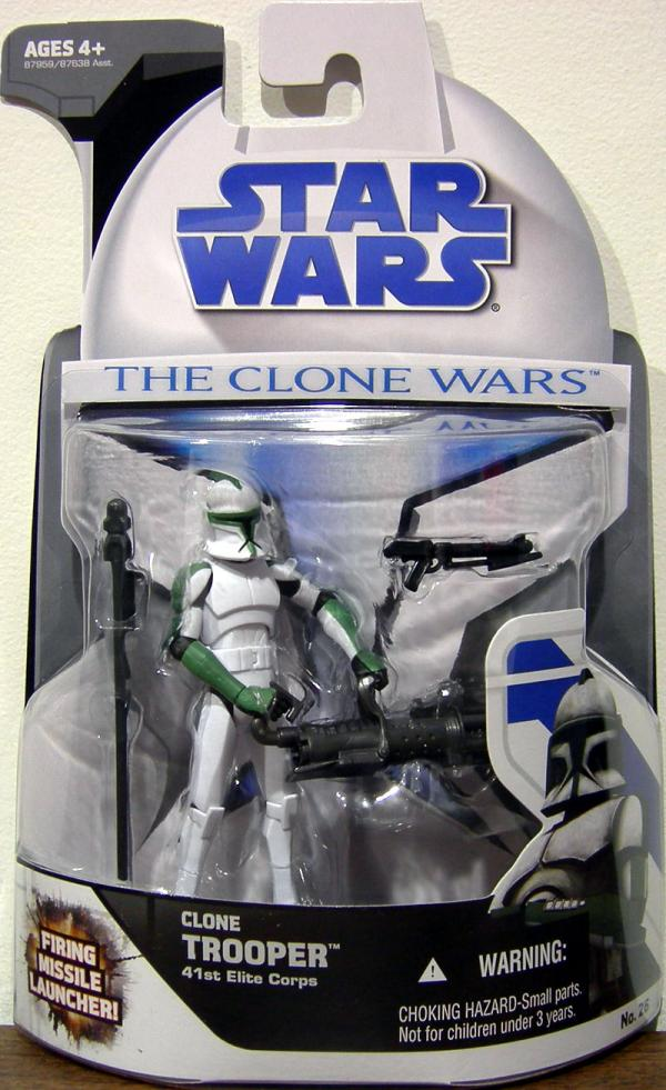 Clone Trooper 41st Elite Corps Clone Wars