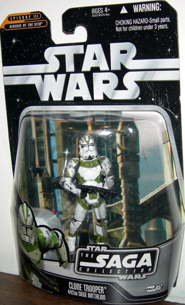Clone Trooper 442nd Siege Battalion Saga Collection 057 action figure