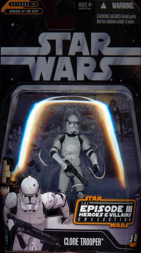 Clone Trooper Episode III Heroes Villains, 5 12